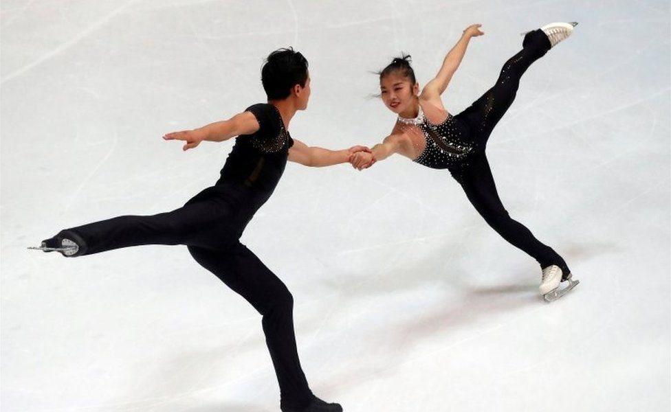 朝鮮花樣滑冰組合