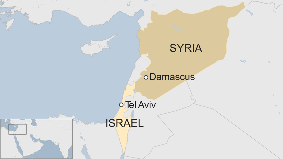 Israel strikes Iranian targets in Syria - military