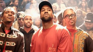 What happened at Kanye's album launch