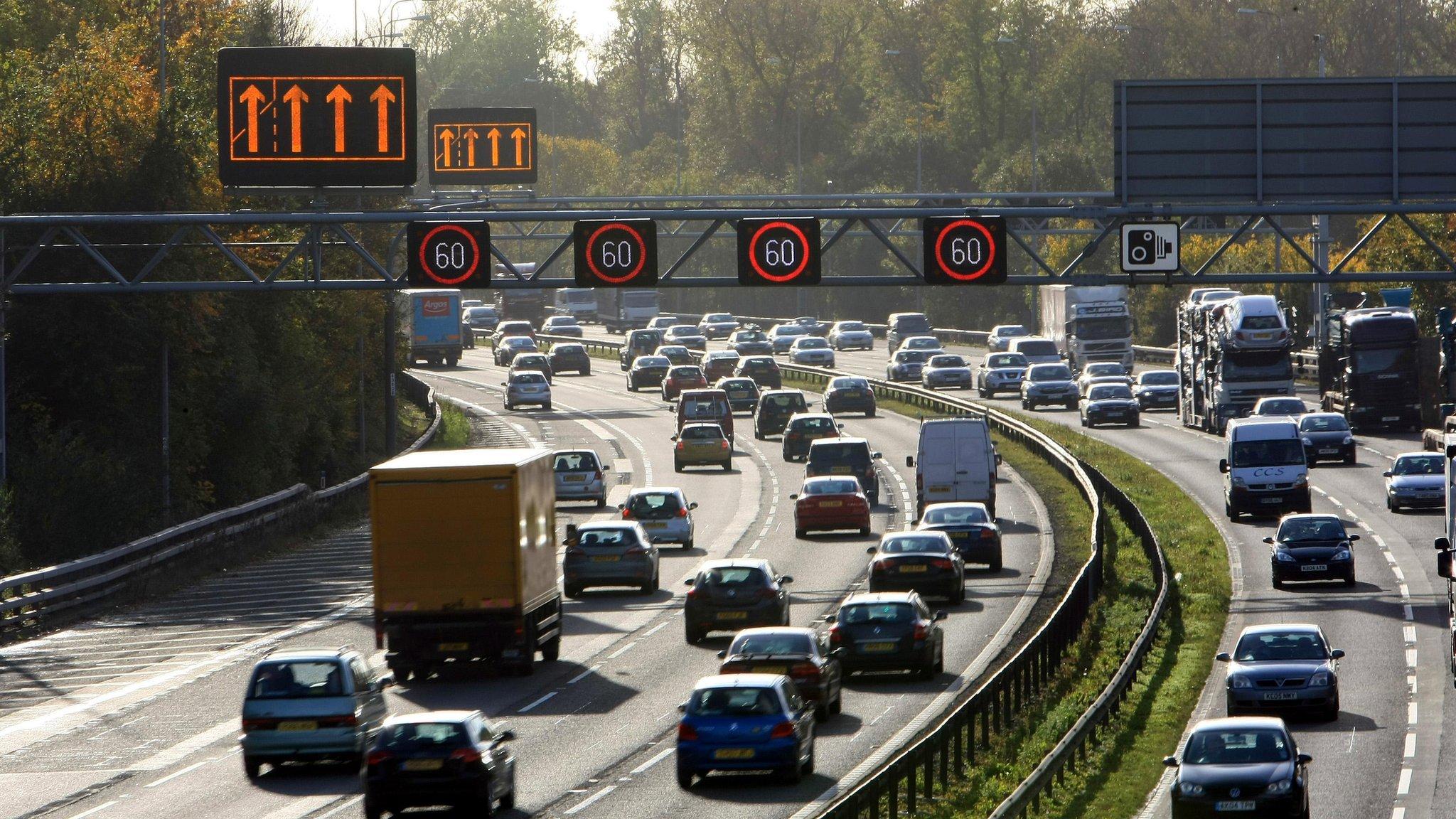 Traffic tailback warning for bank holiday weekend