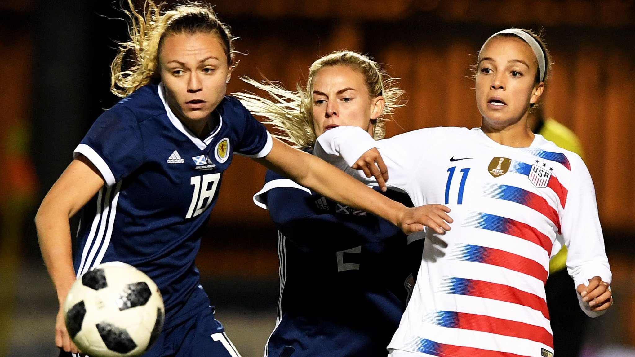 Scotland slip to narrow defeat against world champions USA