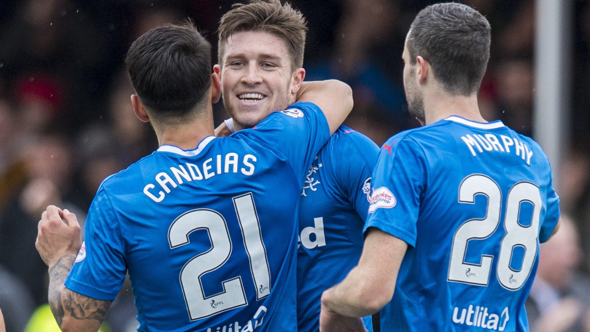 Rangers' Windass hits hat-trick in eight-goal thriller