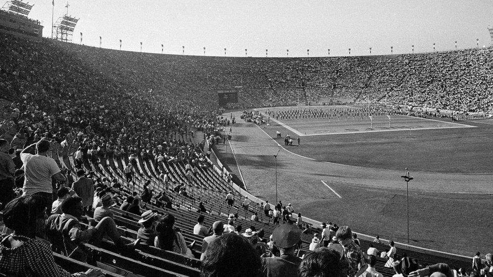 El estadio del primer Super Bowl en Los Ángeles, California