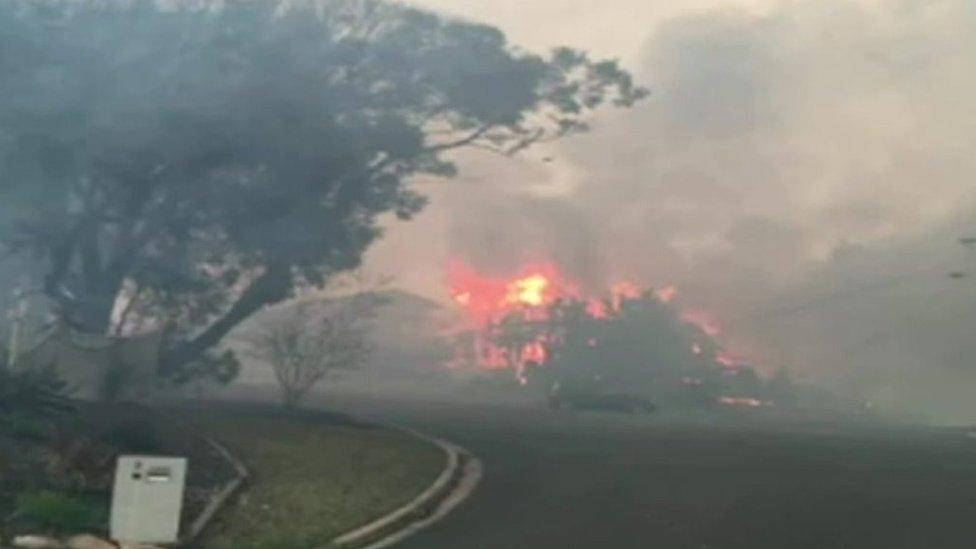 Australia bushfire: Beach town Tathra engulfed in flames