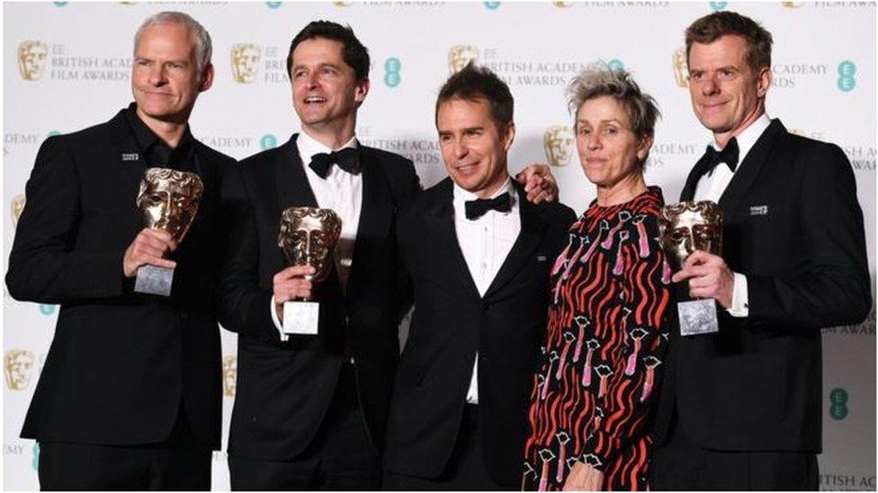 Bafta: Phim 'Ba bảng quảng cáo…' chiếm nhiều giải hàng đầu