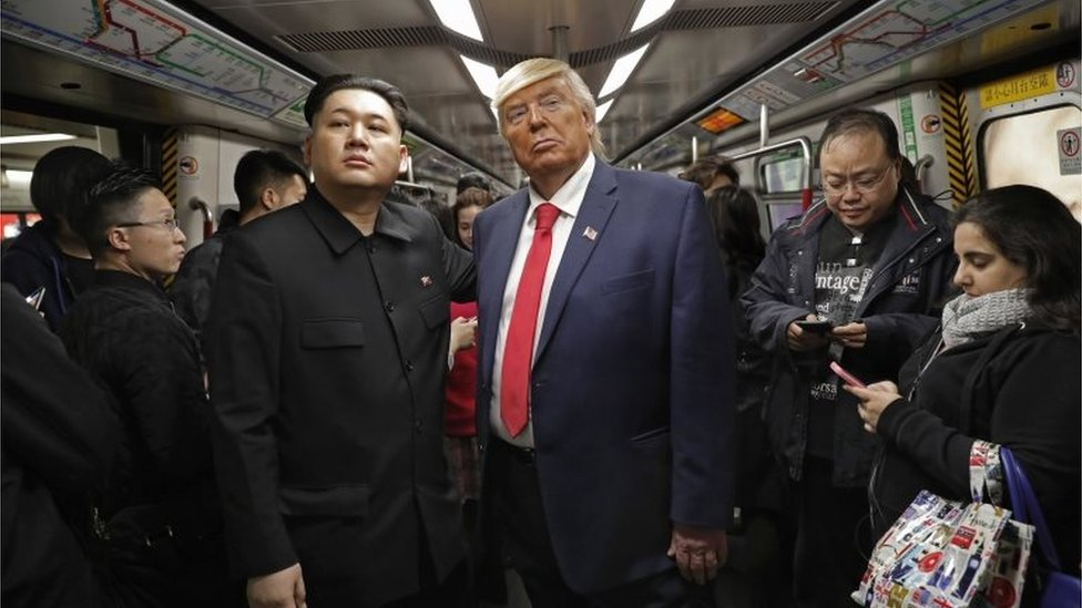 شبيها ترامب و الرئيس الكوري الشمالي