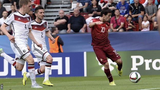 Video: U21 Bồ Đào Nha vs U21 Đức