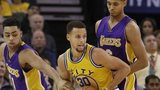 Golden State Warriors beat LA Lakers
