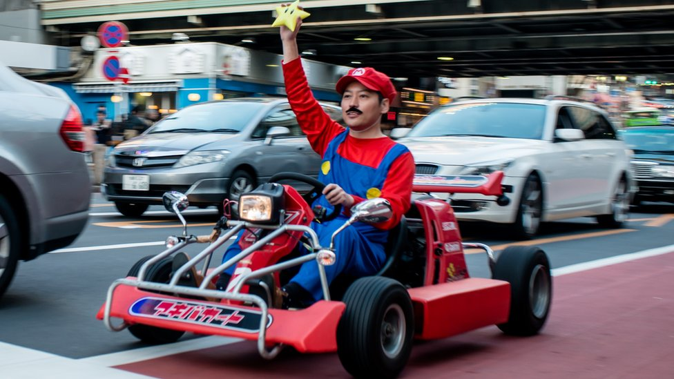 Japan enforces new road rules for 'Mario Kart' drivers