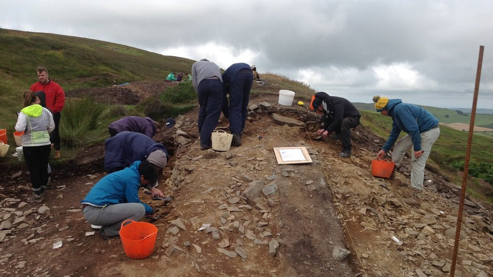 Clwydian Range hillfort archaeological dig open to public