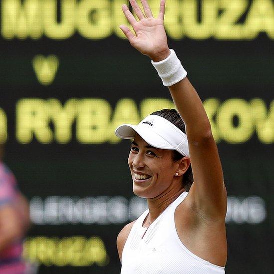Garbiñe Muguruza buscará su segundo título en un Gran Slam tras el conseguido en Roland Garros hace un año.