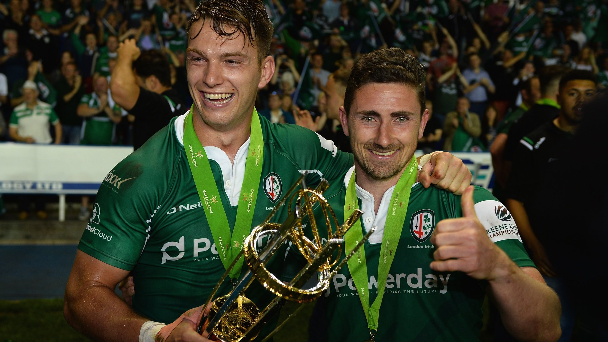 London Irish: Nick Kennedy pays tribute to squad effort in Championship promotion