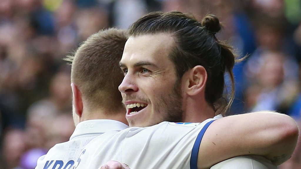 Bale is '100% fit', says Zidane