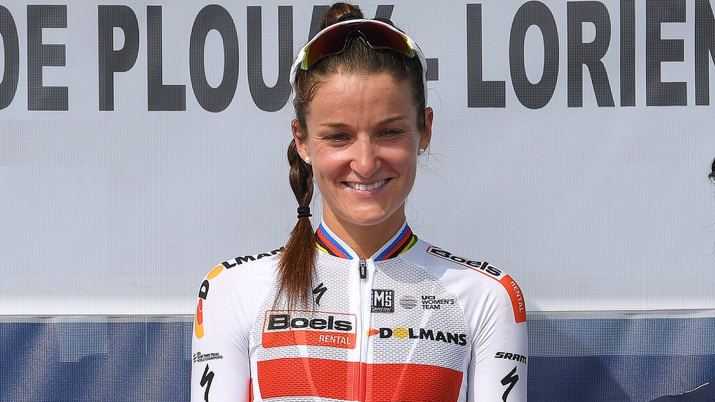 Road World Championships: Lizzie Deignan has 'no pressure' after appendix operation