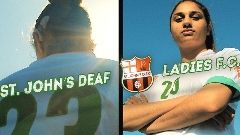 FA People's Cup: 'We're coaching deaf ladies, not deaf disabled ladies'