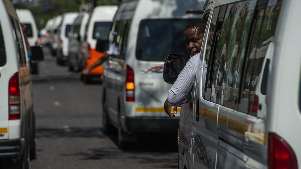South African taxi team offers free rides to struggling elderly