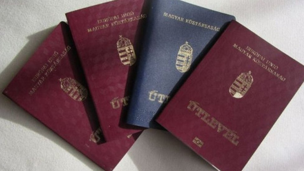 Угорські паспорти