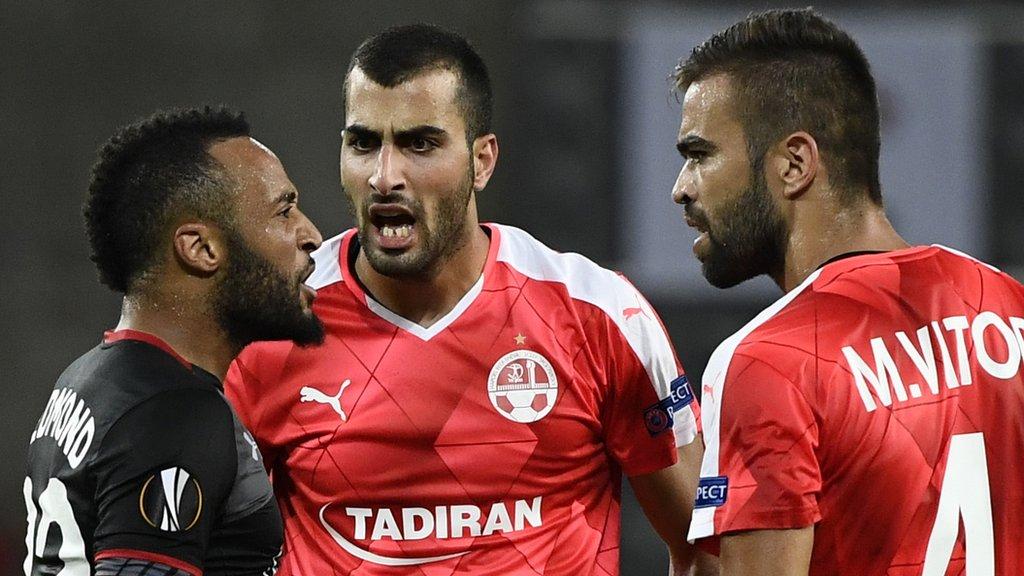 Saints earn Europa League point in Israel