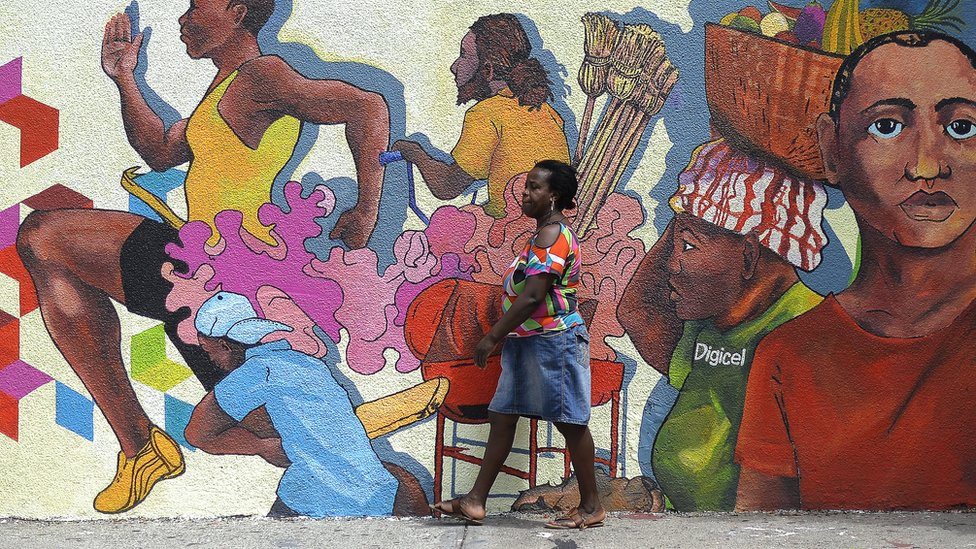 Mural in Jamaica