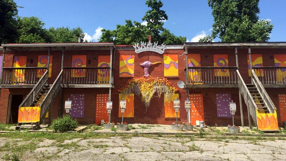 Apartamentos pintados em Parkland;