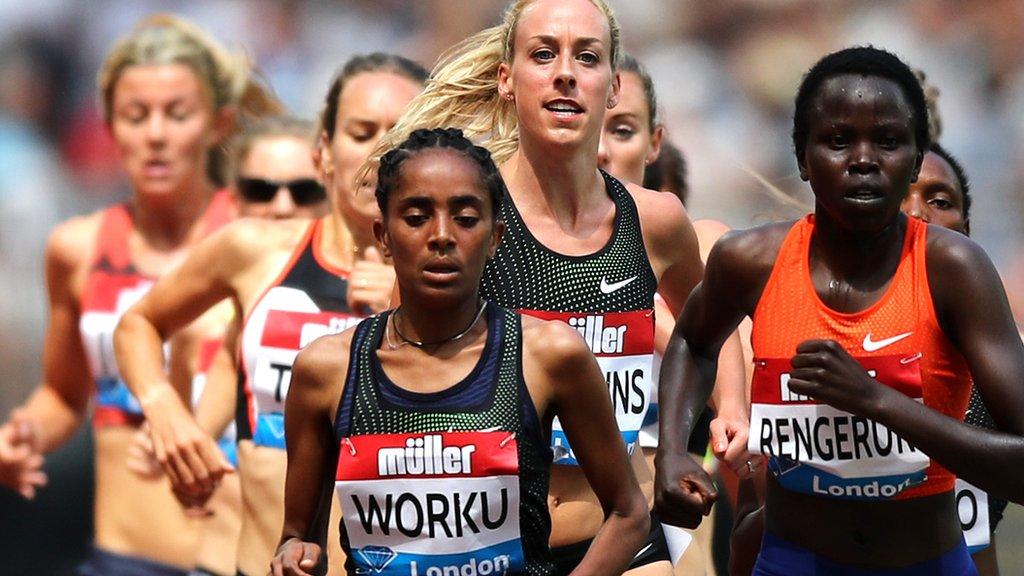 Anniversary Games: Fantu Worku 'finishes' 3,000m half a lap early
