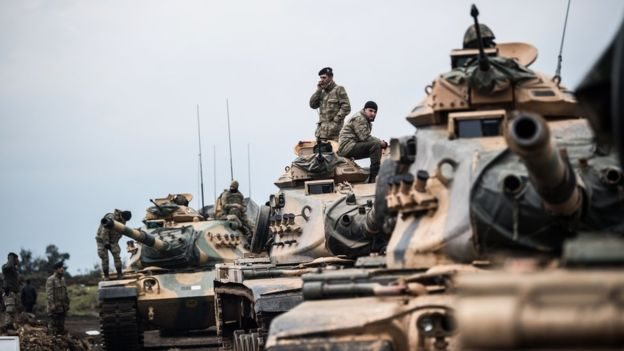 """القوات التركية """"تسيطر على قرى"""" بمنطقة عفرين السورية"""