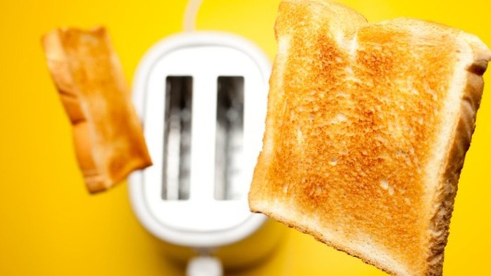 How risky is a slice of burnt toast?