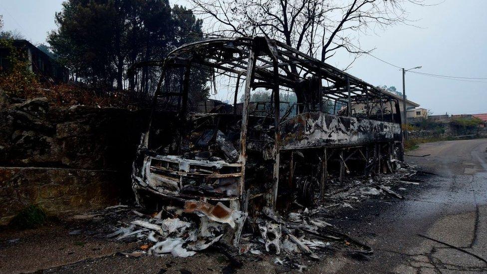 Понад 50 людей загинули через загоряння автобуса в Казахстані