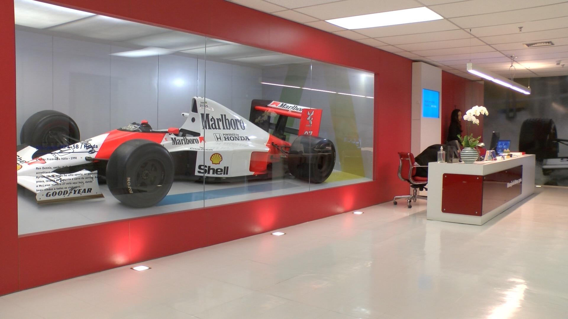 Oficinas de la fundación Senna.