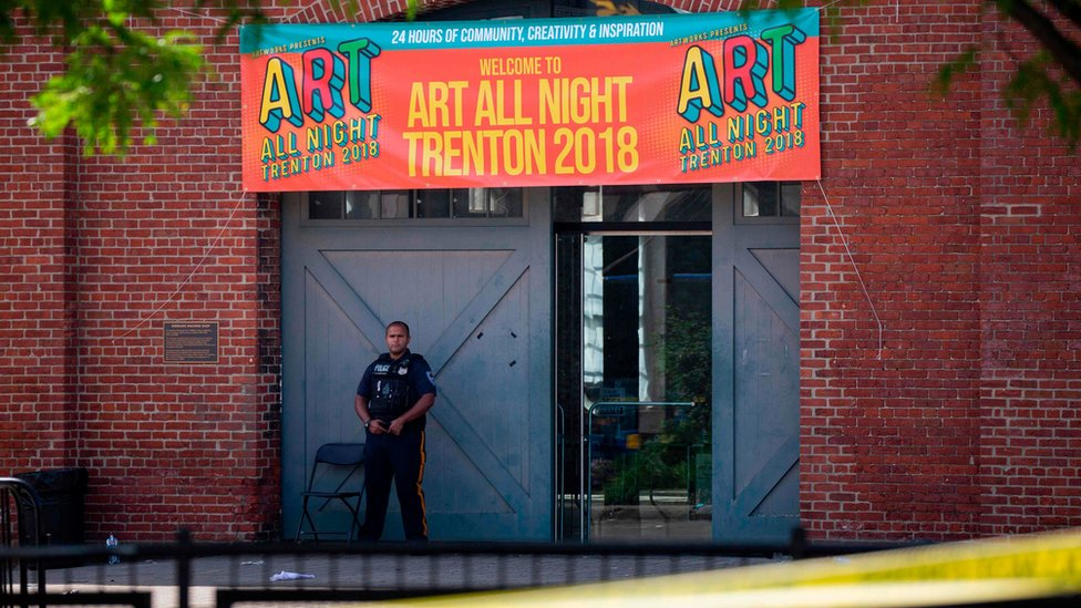 New Jersey arts festival: One shooter dead and 22 injured