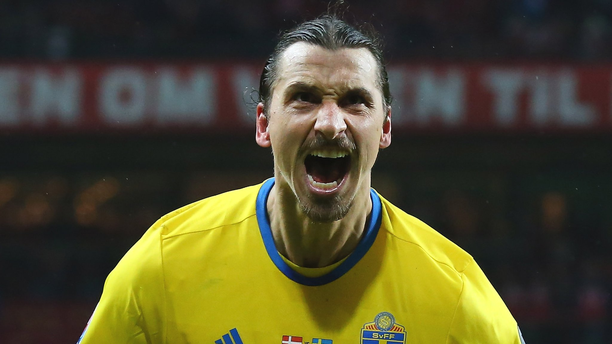 Zlatan Ibrahimovic: His six Euros goals for Sweden in 60 seconds
