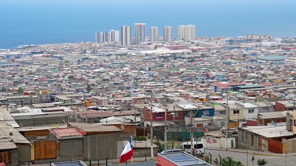 Antofagasta es la ciudad más importante de la industria chilena del cobre, fuente de la mayor parte de los ingresos del país.