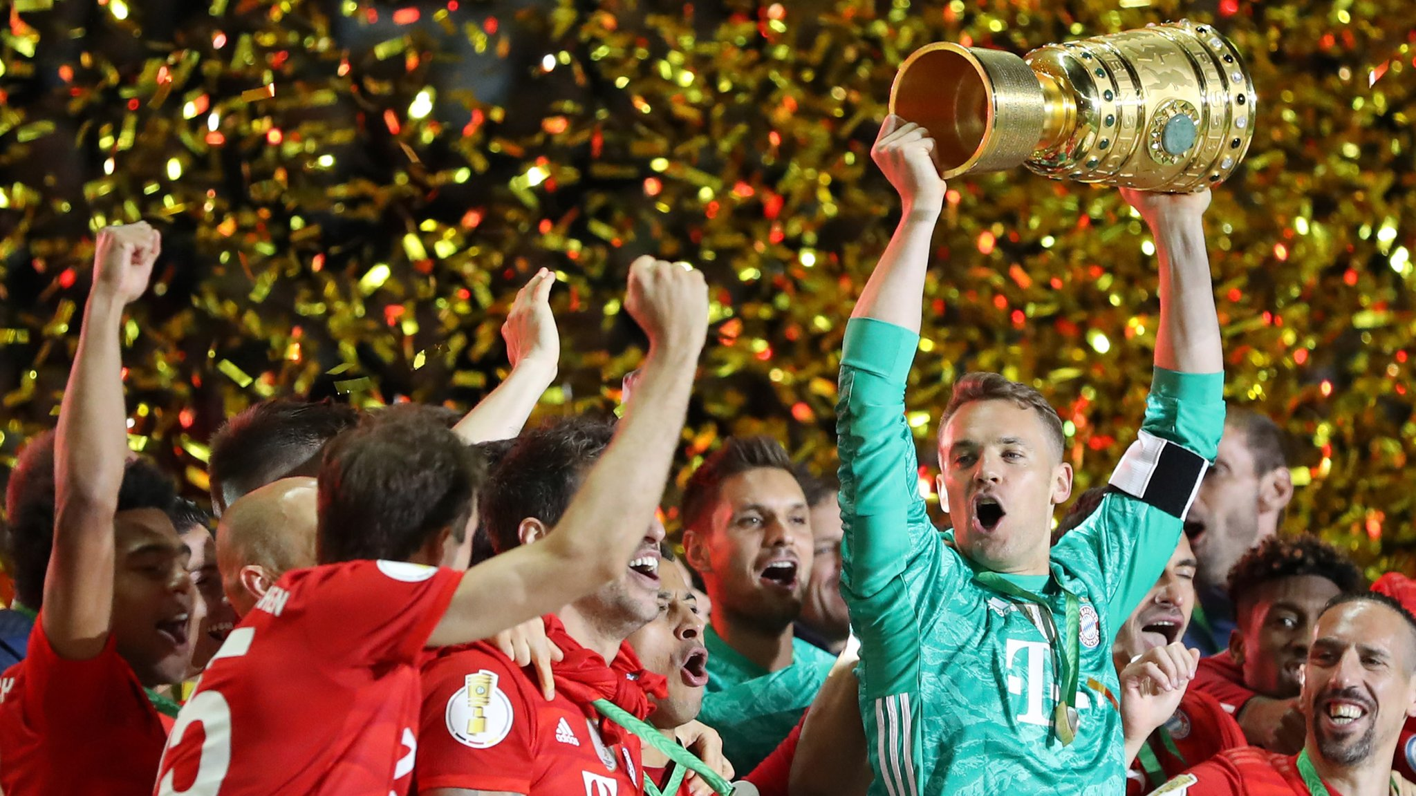 DFB Pokal final: Bayern clinch double with 3-0 win over Leipzig