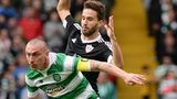 Celtic captain Scott Brown in action against Qarabag