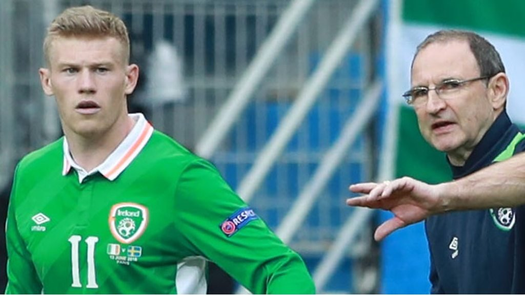 Republic boss O'Neill to 'have a word' with McClean