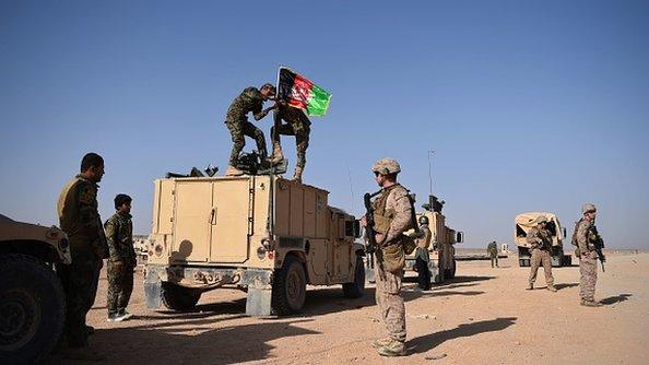 سیګار: پر افغان خاوره د حکومت ولکه کمه شوې