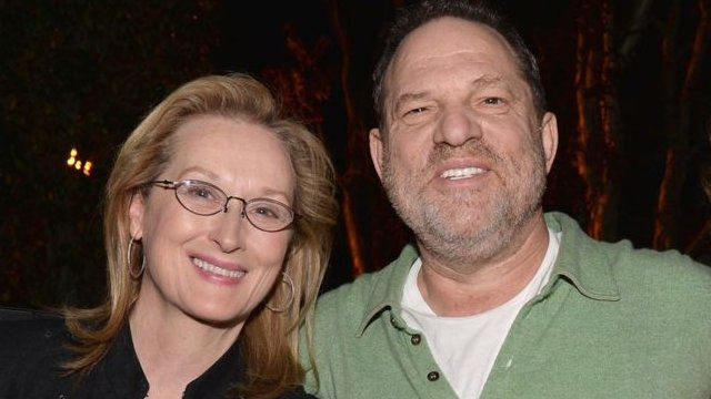 Meryl Streep y Harvey Weinstein