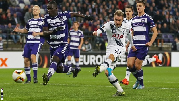 Europa League - Tottenham Hotspur vs Anderlecht Betting Preview
