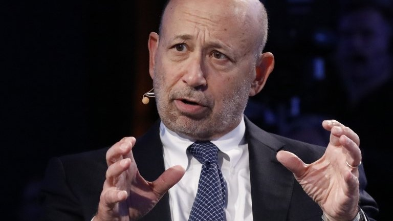Goldman Sachs chief Lloyd Blankfein hints at Frankfurt move