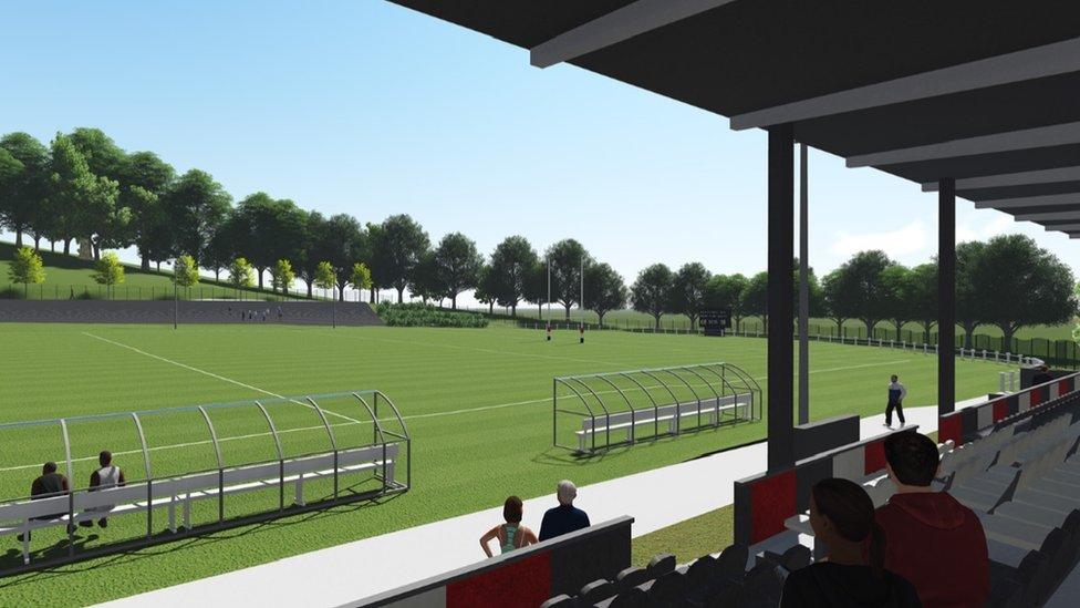 Pontypool rugby club's plan for 'premier sporting venue'