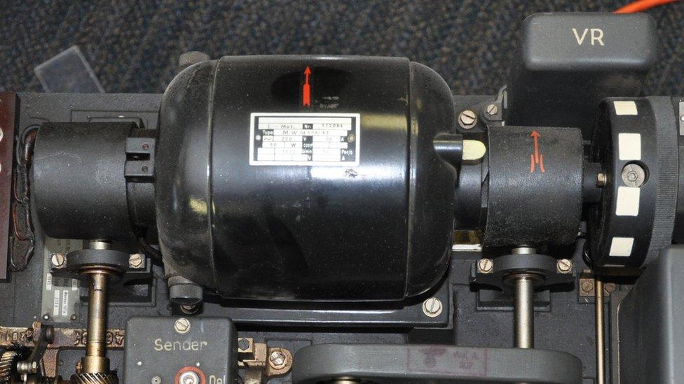 ww2 german code machine