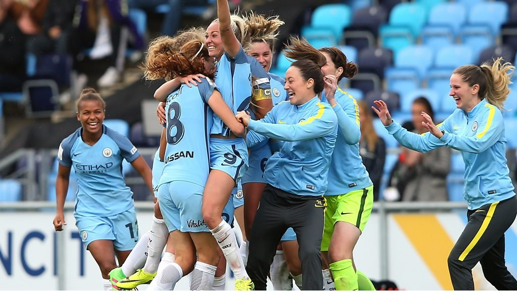WSL: Manchester City beat Chelsea to title