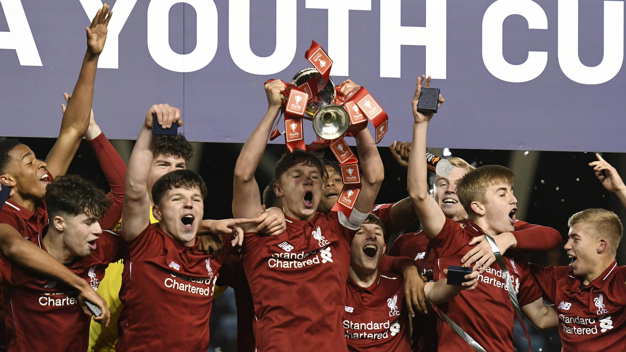 Liverpool beat Manchester City on penalties in Youth Cup final