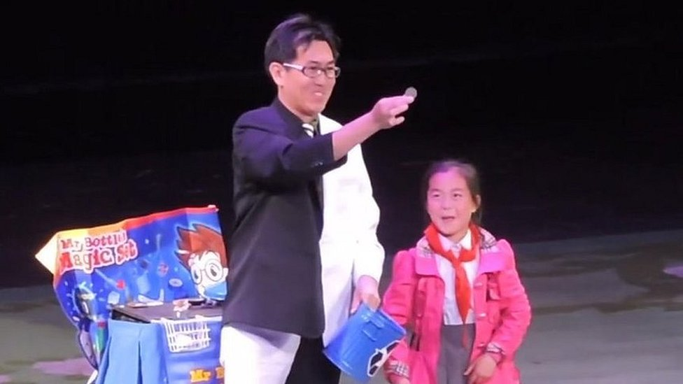 'Why I performed magic in North Korea'