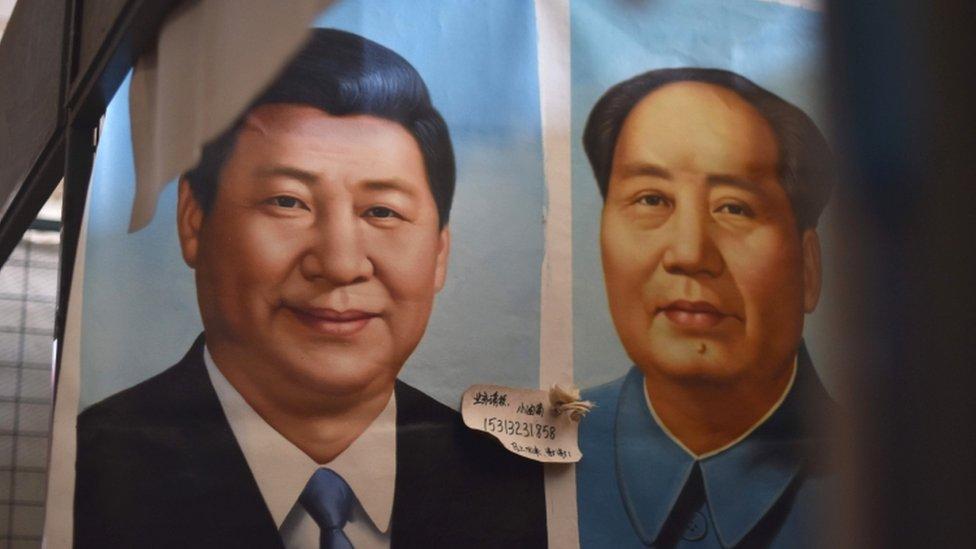 Cina, Xi Jinping, Mao Zedong