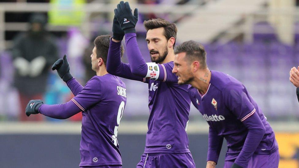 Italie : le capitaine de la Fiorentina décédé
