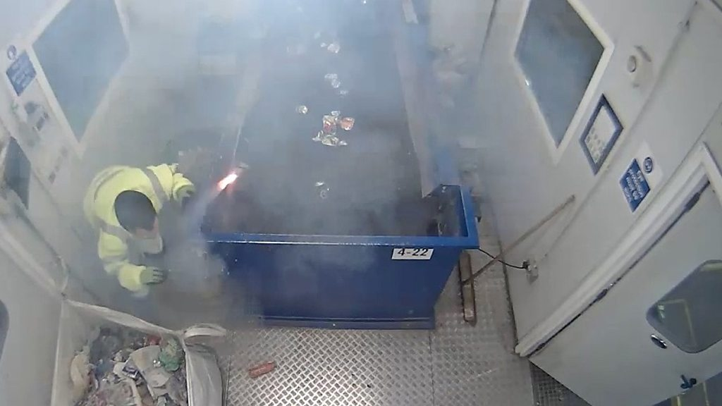 Marine flare explodes at Waterbeach recycling centre