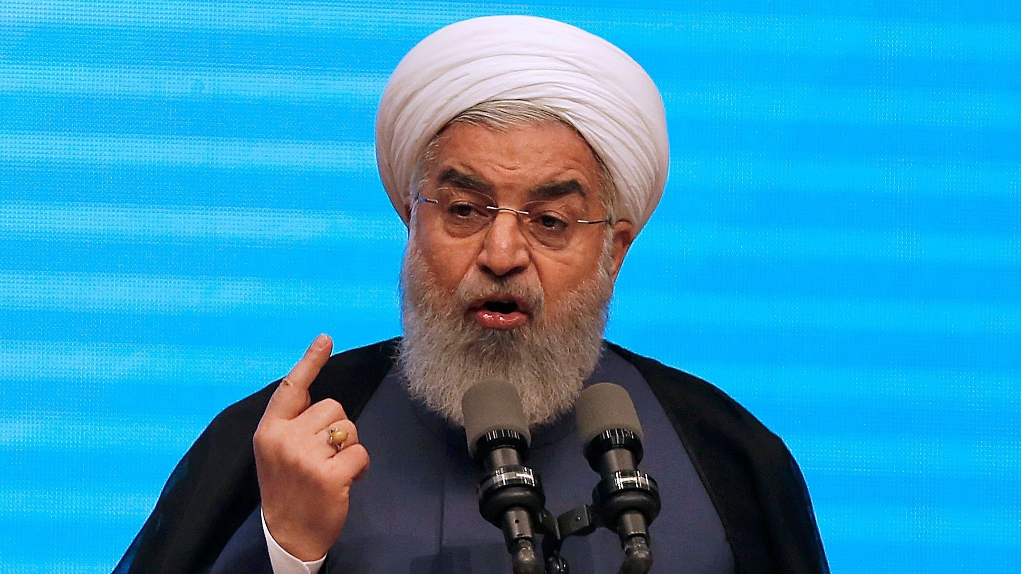 Iran nuclear deal: Rouhani says West has no right to make changes