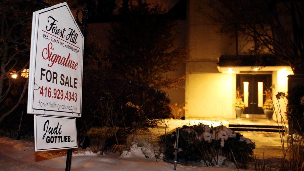 La casa de los Sherman estaba a la venta por unos US$5,4 millones.