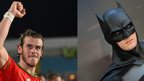 Gareth Bale and Batman